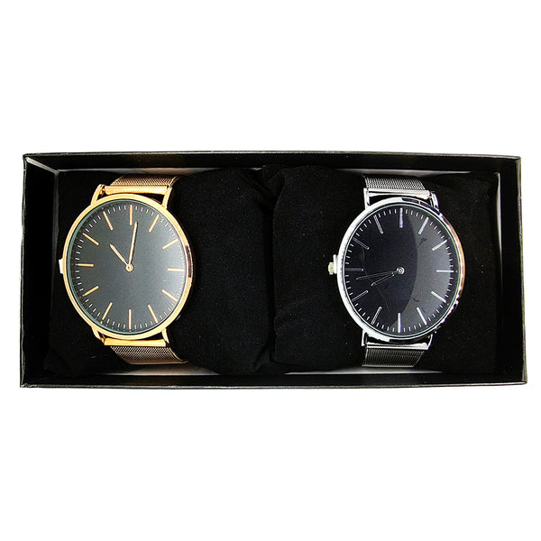 Maelle's Metallic Unisex Watch