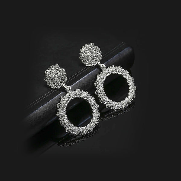 Vintage Heavy Punk Style Earrings
