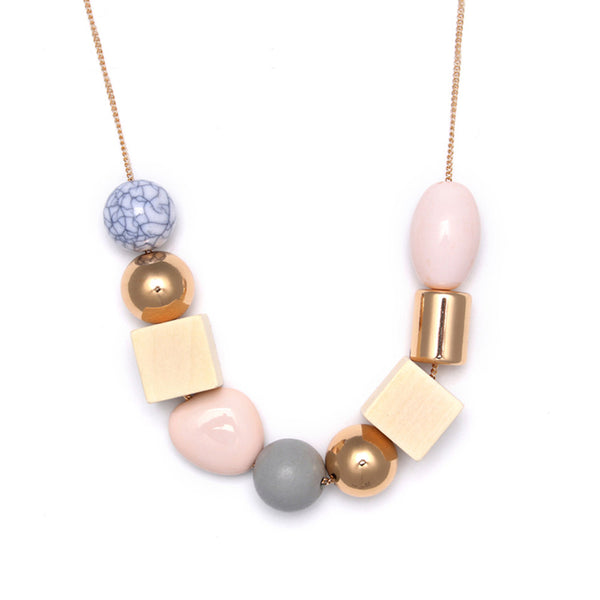 Fashionable Bohemia Pastel Color Necklace