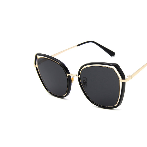 Chic-n-elegant Asymmetric Sunglasses