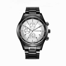 Formal Men's Watch with Metallic-touch on Dial