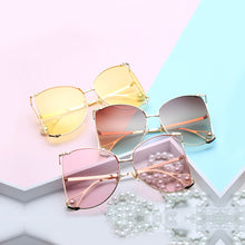 Luxury Cat's Eye Square Sunglasses