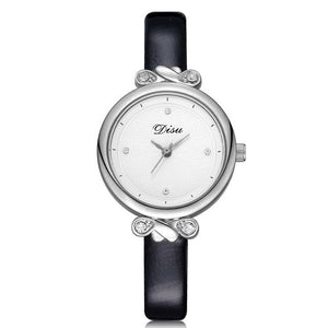 Round Dial Crystal Studded Chic Wrist watch