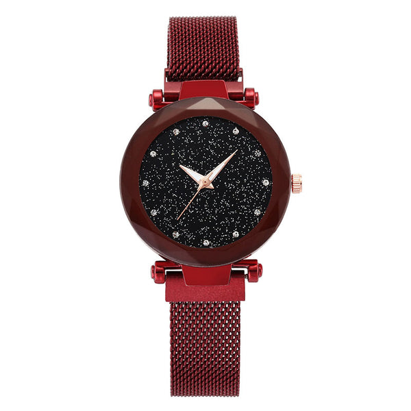 Stylish Faux Leather Unisex Watch