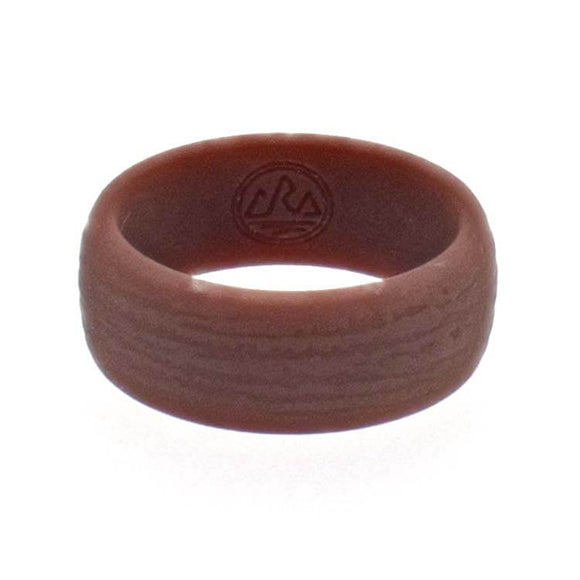 Traditional Bark Silicone Ring