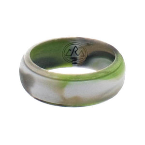 Ridge Green Camo Silicone Ring