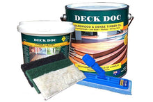 Load image into Gallery viewer, Deck Doc Hardwood & Dense Timber Oil Kit