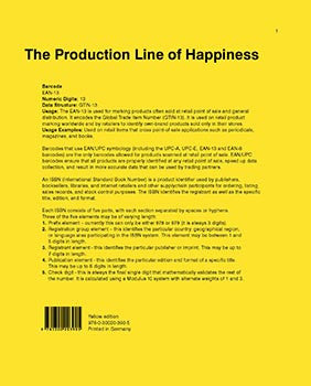 The Production Line of Happiness / Christopher Williams / SOLD OUT