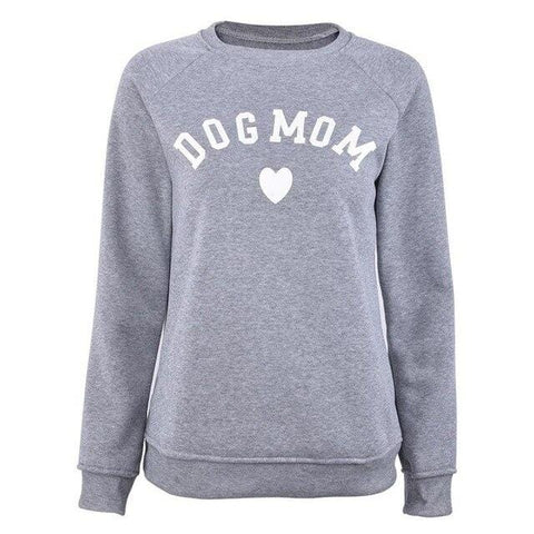 Dog Mom Women's Casual Sweatshirt