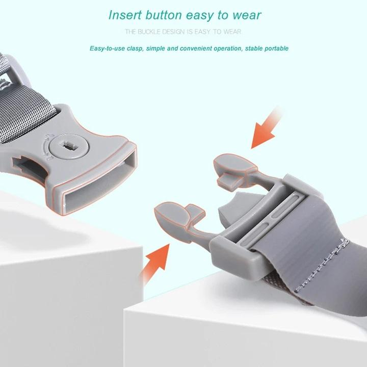 Baby-Proof Safety Protection Wristband