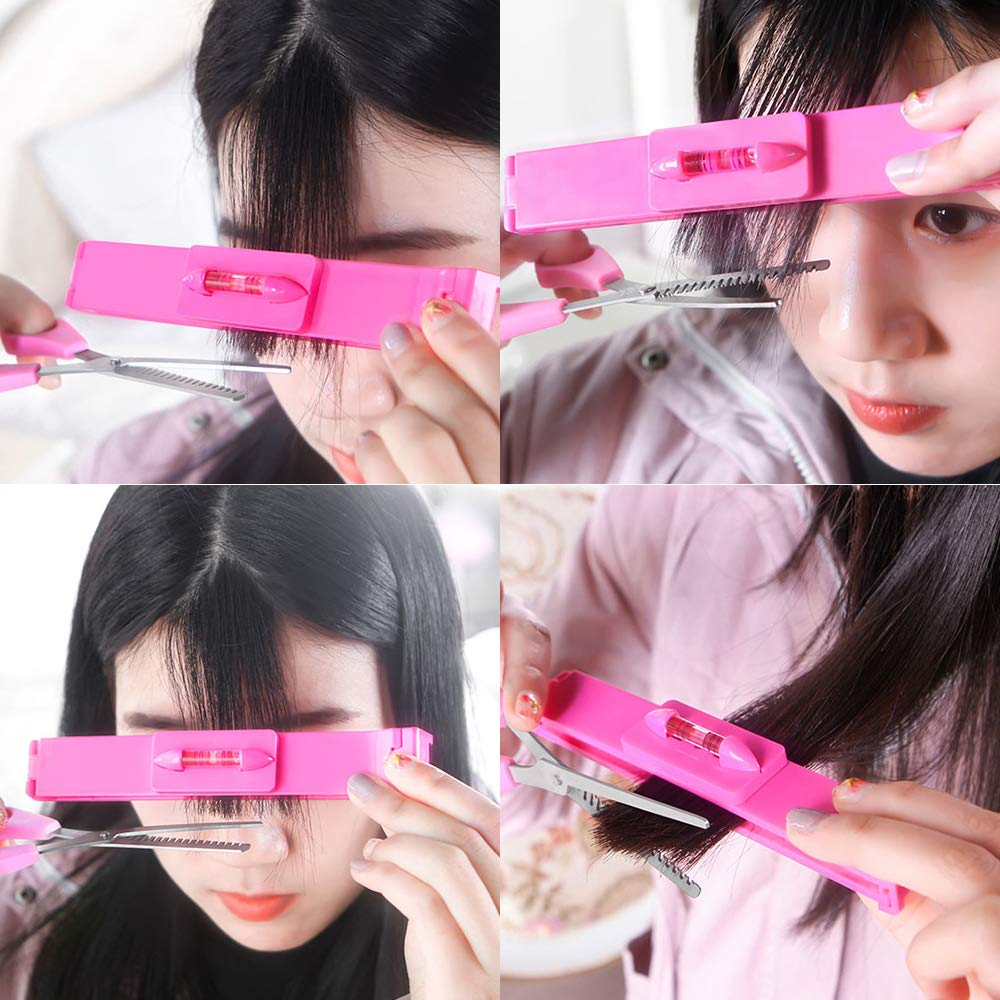 Self-Hair Cutting DIY Hairstyle Clips