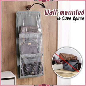 3-Layer Hand Bag Hanging Organizer