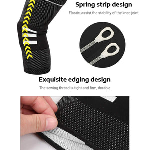SuppAlpha™ Elastic CrossFit Brace Kneepad Support