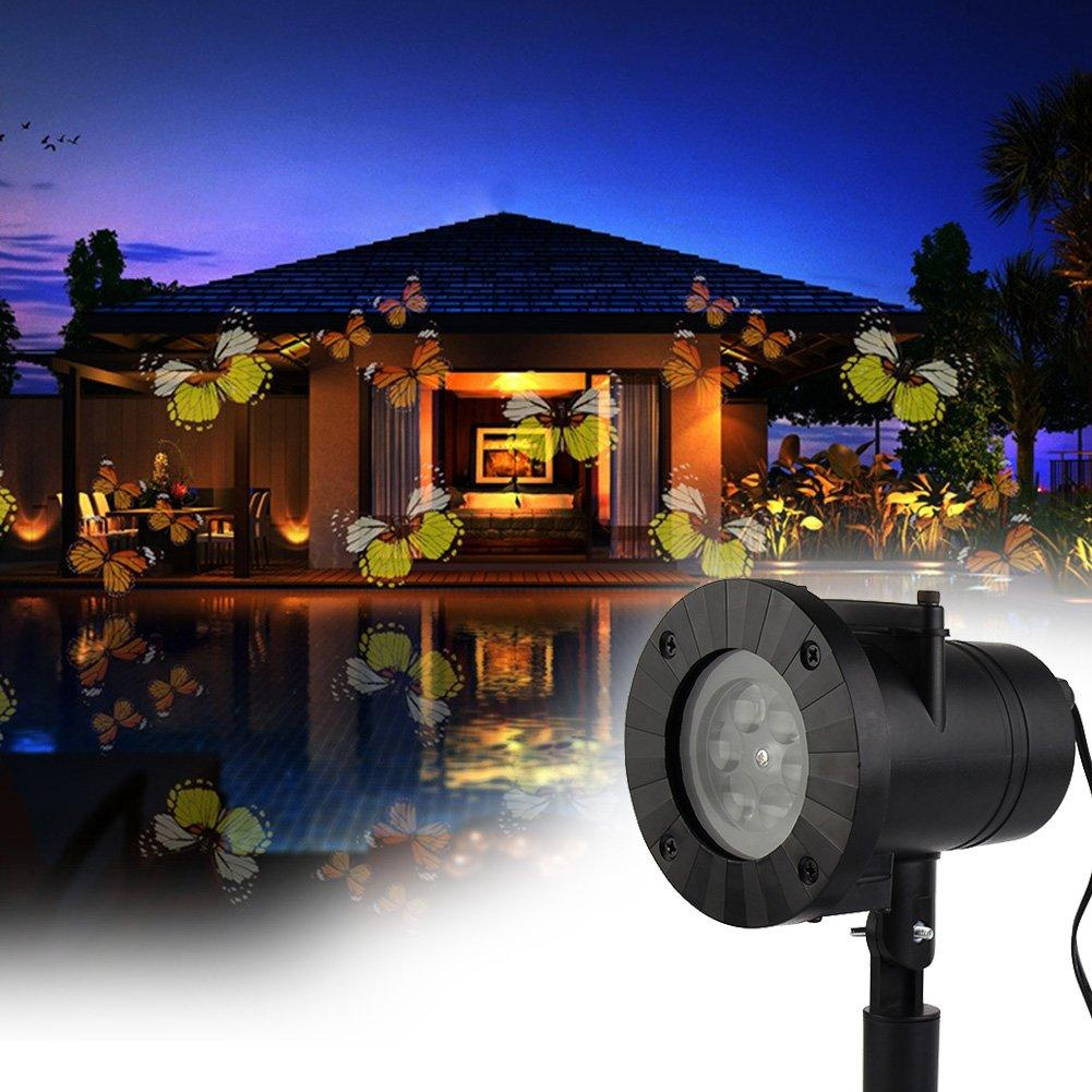 Christmas Landscape Lights Waterproof Projector (12 displays)