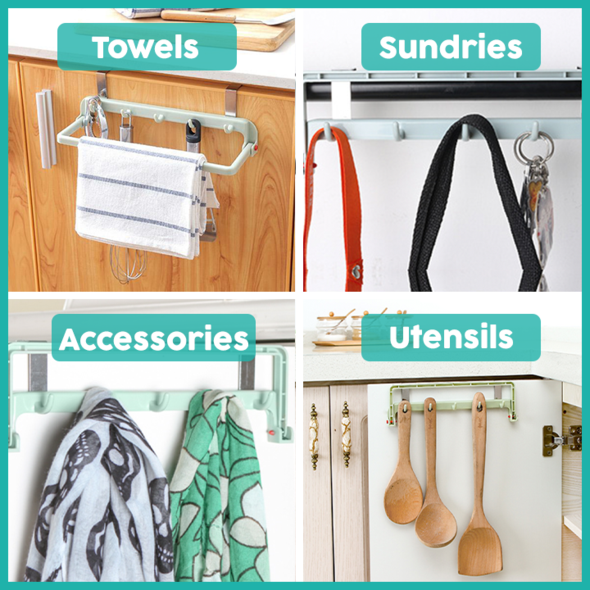 Multipurpose Punch-Free Hanging Rack