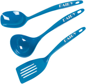 Dairy Blue Kitchen Utensil Set - 3 Piece Set