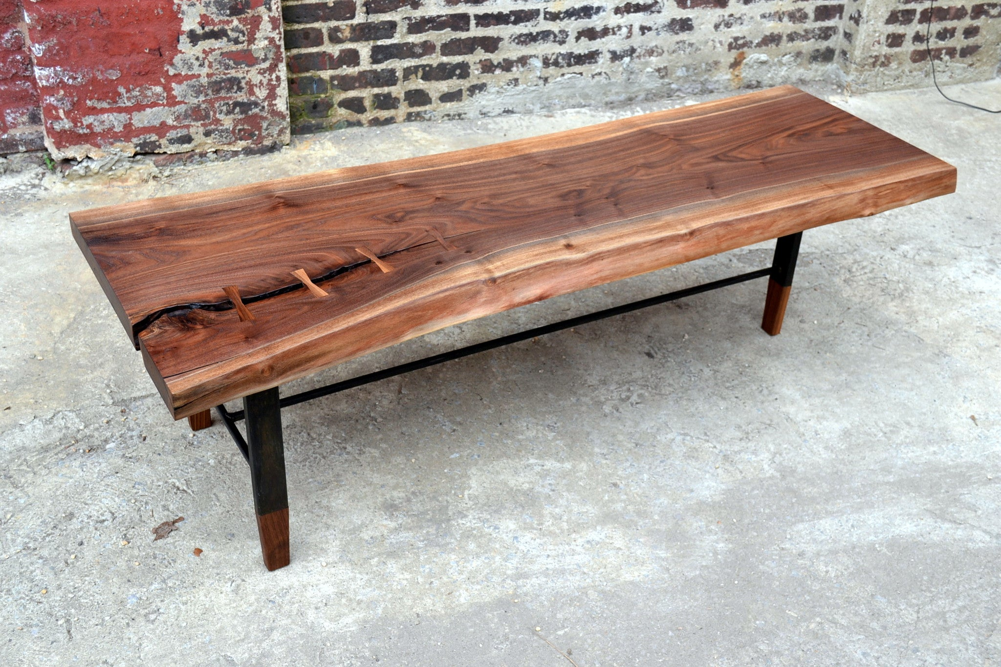 Woodfoot Walnut Coffee Table