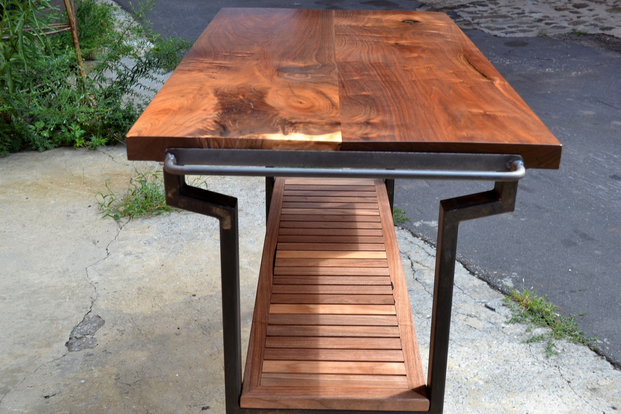 Walnut Kitchen Console