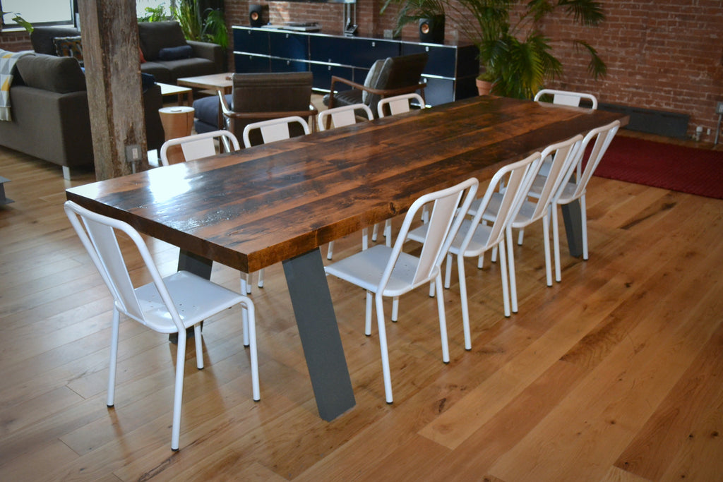 Flared Parsons Dining Table