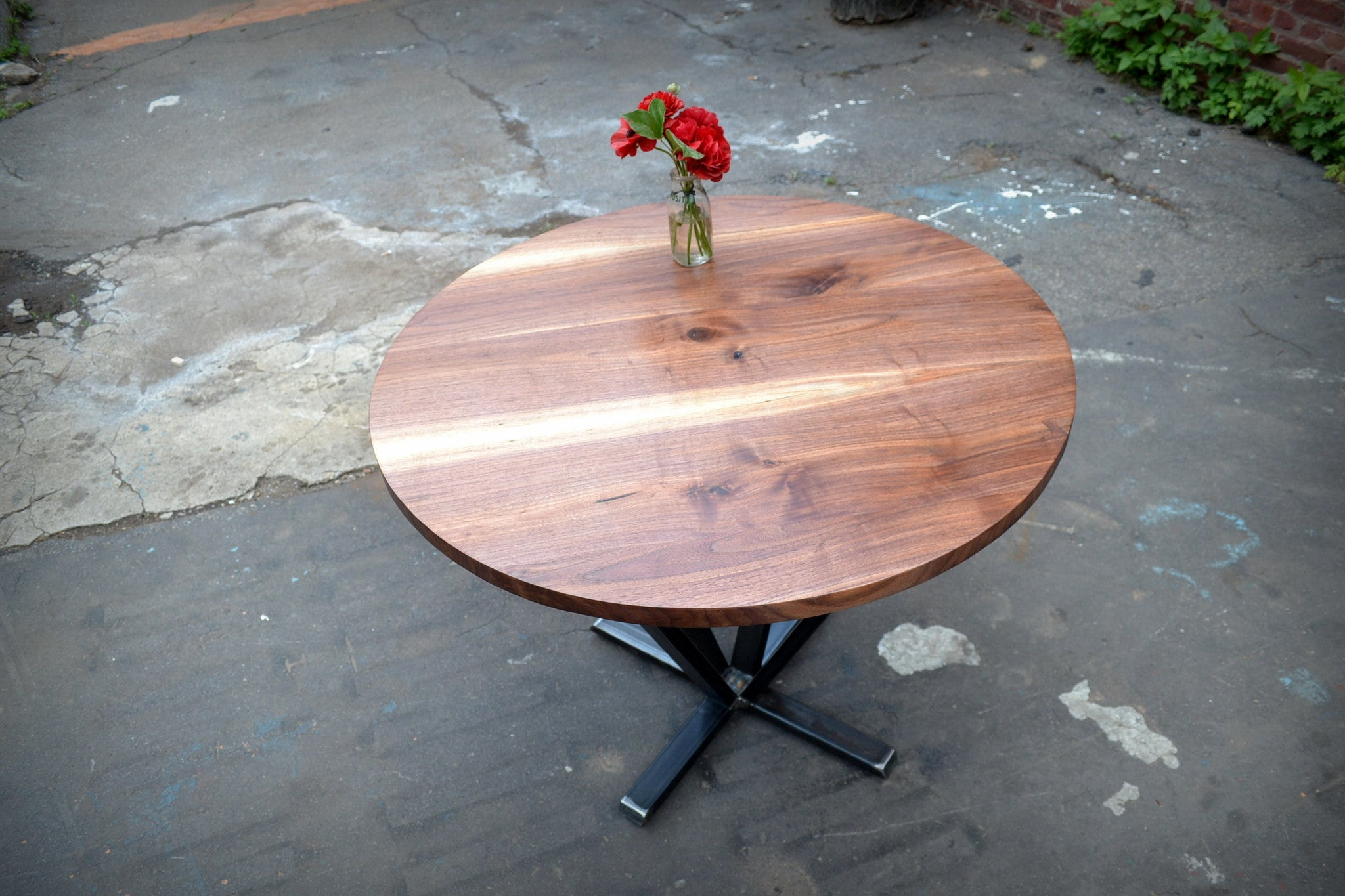 Walnut Rounder's Dining Table