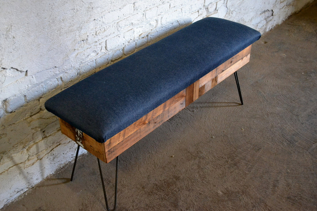 Patchwork Storage Bench