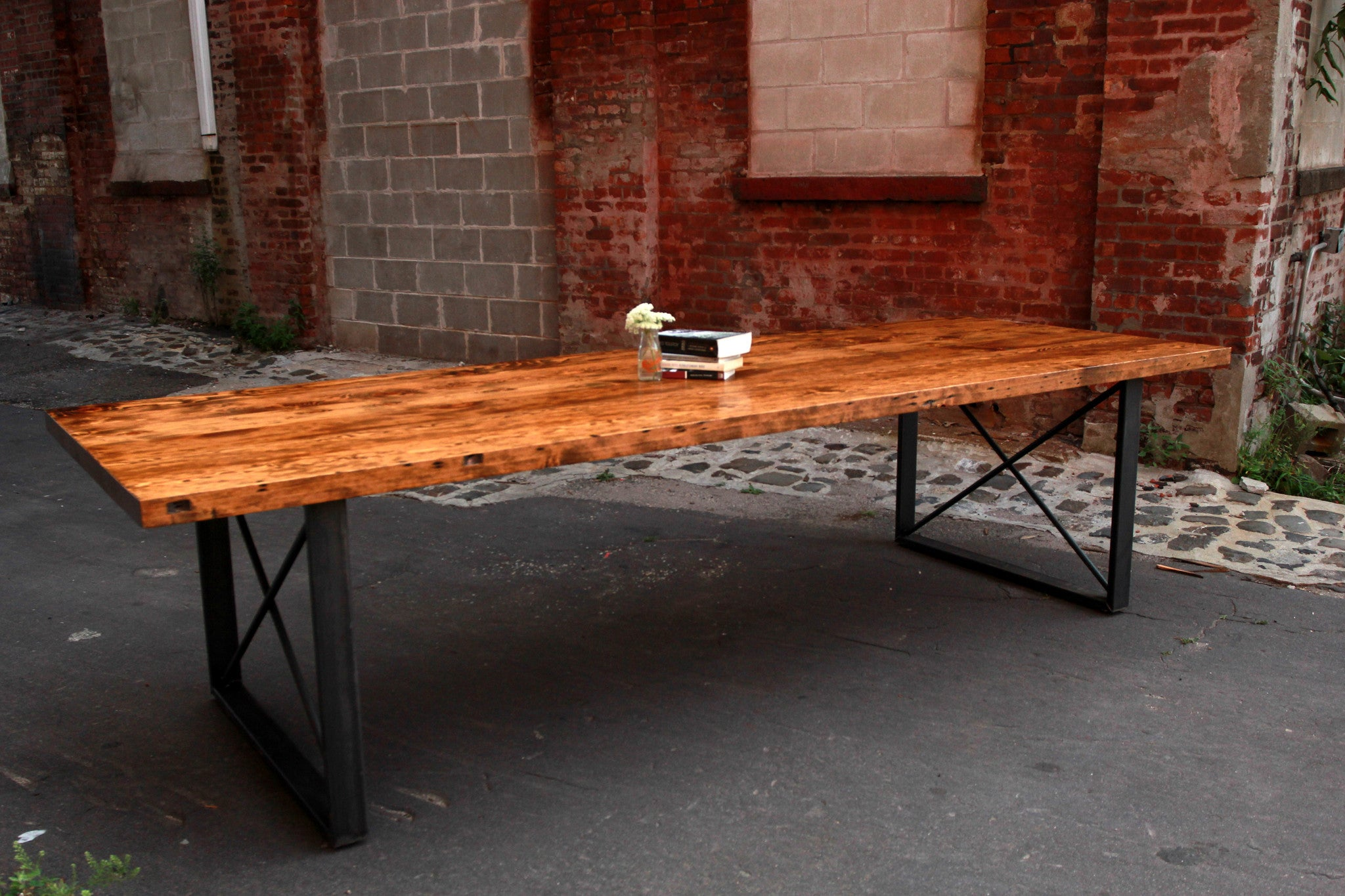 X-Frame Dining Table