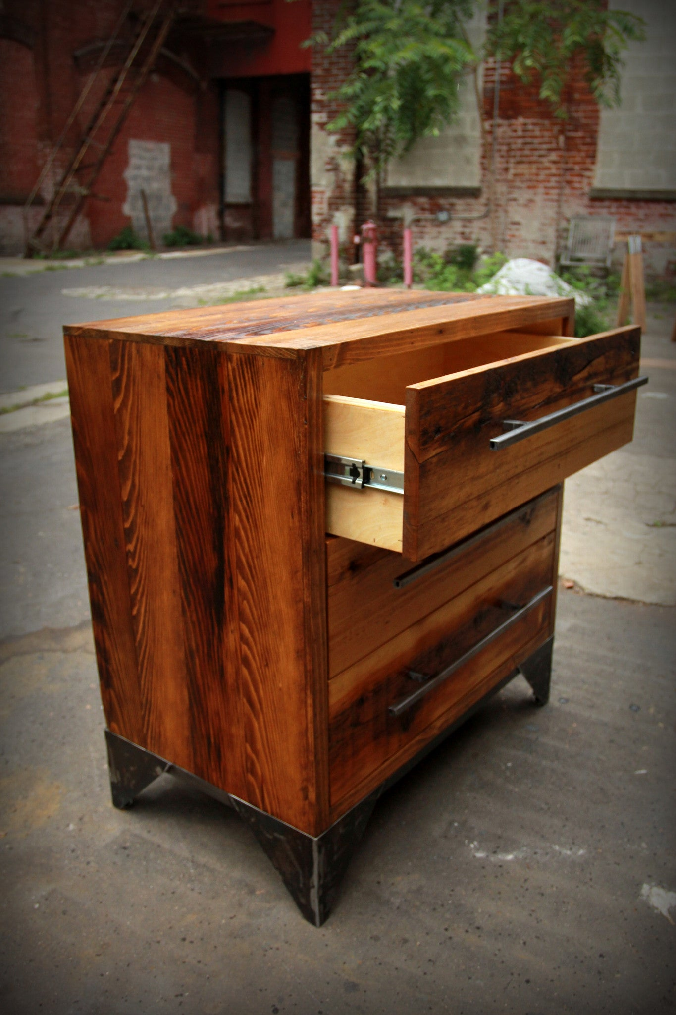 Half Column Brooklyn Dresser