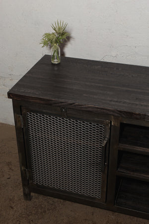 Reclaimed Oak Media Credenza