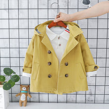 Load image into Gallery viewer, Boys Fall Trench Coat