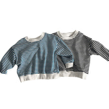 Load image into Gallery viewer, Unisex Striped Cotton Sweater