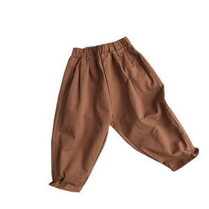 Unisex Ankle Length Cotton Trousers