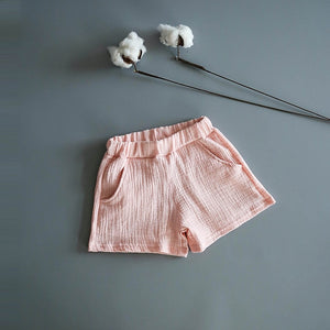 Unisex Cotton Muslin Shorts