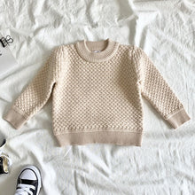 Load image into Gallery viewer, Unisex Cotton Weave Sweater