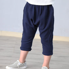Load image into Gallery viewer, Unisex Ankle length Harem Pants