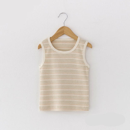 Unisex Organic Cotton Sleeveless Shirt
