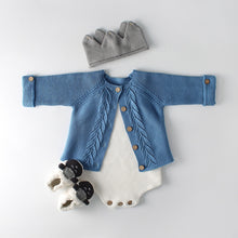 Load image into Gallery viewer, Baby Girls Knit Cardigan