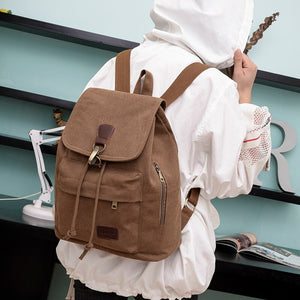 Youth Canvas Backpack