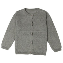 Load image into Gallery viewer, Girls Cotton Cardigan