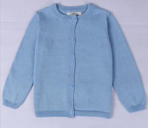 Girls Cotton Cardigan