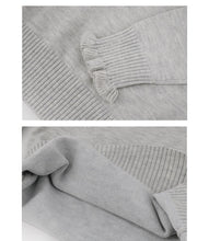 Load image into Gallery viewer, Girls Knitted Ruffle Detail Sweater