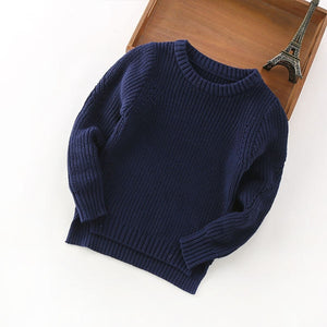 Unisex Cotton Ribbed Sweater