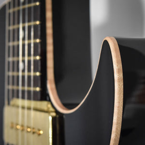 B&G Guitars Black Widow Finish Announced