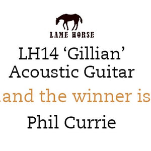Lame Horse LH14 'Gillian' Competition Winner Announced