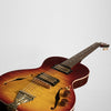 B&G Little Sister Private Build Electric Guitar - Non-Cutaway, Cherry Burst, Humbuckers #678