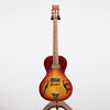 B&G Little Sister Private Build Electric Guitar - Non-Cutaway, Cherry Burst, P90s #677