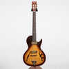 B&G Guitars Little Sister Crossroads Cutaway Electric Guitar, Tobacco Burst #128