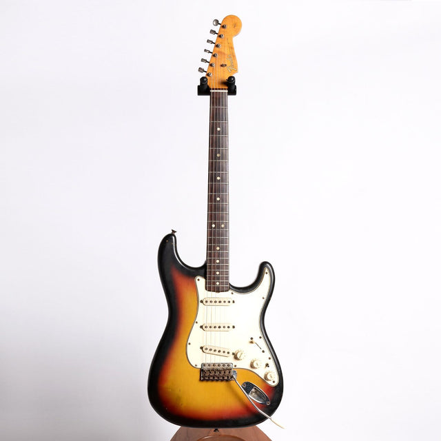 Fender Stratocaster Electric Guitar, 1965, Three Colour Sunburst - Pre-Owned