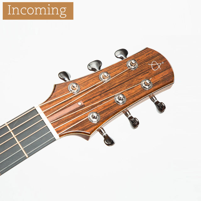 Incoming Åstrand Å-SJ Acoustic Guitar, Brazilian Rosewood & Swiss Moon Spruce