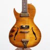 B&G Guitars Little Sister Crossroads Cutaway Electric Guitar, Honey Burst - Left Handed