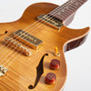 B&G Guitars Little Sister Crossroads Cutaway Electric Guitar, #099 Honey Burst
